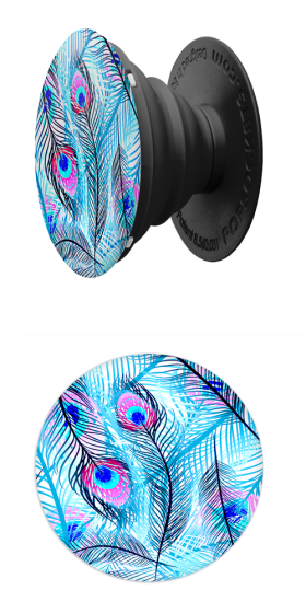 Popsocket - Peacock Feathers