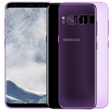 BackCover Slim transparent für Galaxy S8+; SM-955F
