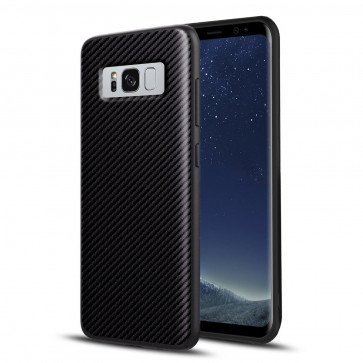 BakCover Smooth Carbon für Galaxy S8 SM-G950F