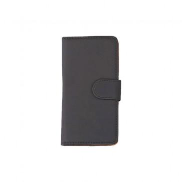 Bookstyle Tasche Schwarz mit Kreditkartenfach und Aufstellfunktion für Huawei Mate 8