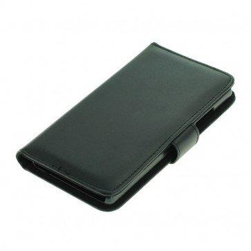 Bookstyle Tasche Schwarz  für Huawei Ascend G6 / P7 mini